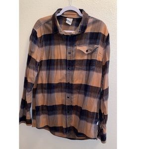 Men's North Face flannel